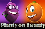 Слот Plenty on Twenty в онлайн казино